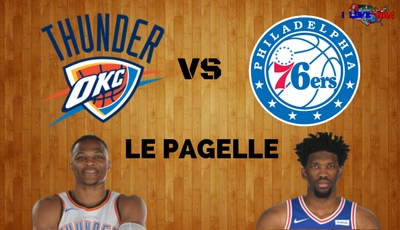 PAGELLE THUNDER – 76ERS