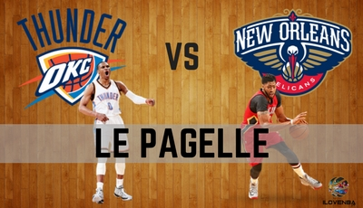 PAGELLE THUNDER – PELICANS