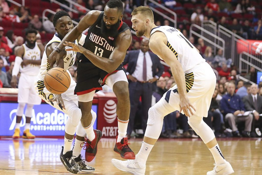 PAGELLE INDIANA PACERS – HOUSTON ROCKETS