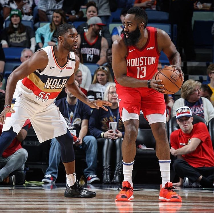 PAGELLE HOUSTON ROCKETS – NEW ORLEANS PELICANS