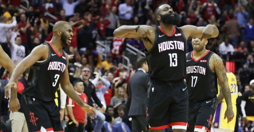 PAGELLE LOS ANGELES LAKERS – HOUSTON ROCKETS