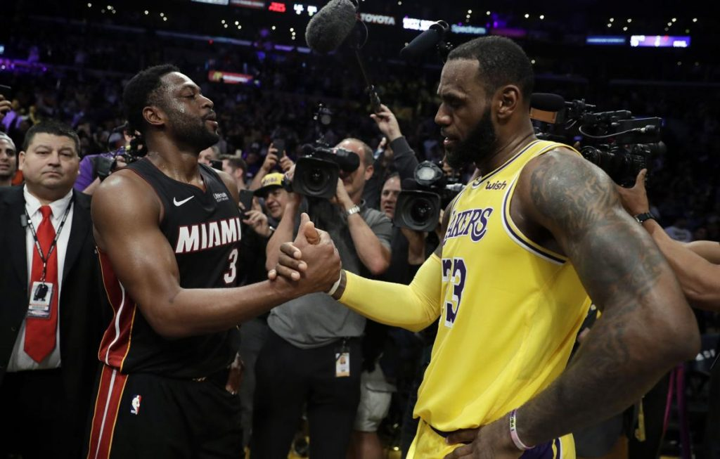 PAGELLE MIAMI HEAT – LOS ANGELES LAKERS